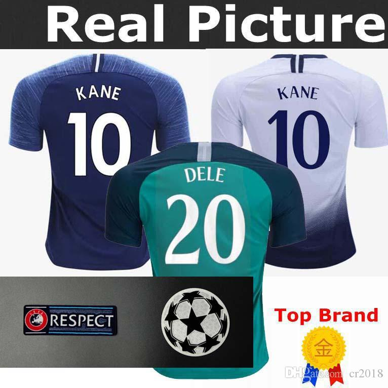 3790f841e 2019 TOP Thailand Spurs KANE UCL Soccer Jerseys 2018 2019 LAMELA ERIKSEN  DELE SON Jersey 18 19 Football Kit Shirt Men And KIDS KIT SET Uniform From  Cr2018