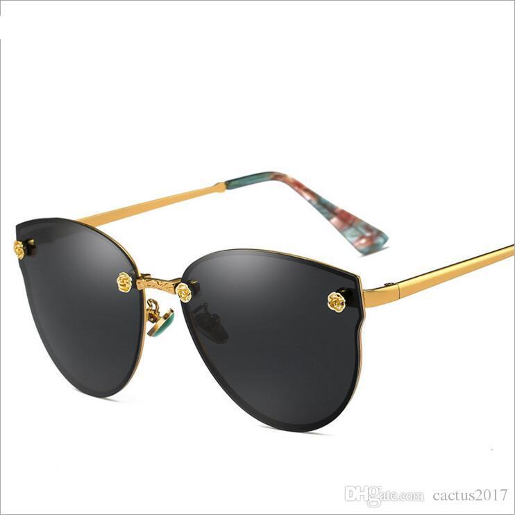Compre Óculos Polarizados Mulheres Homens Clássico Retro Vintage Shades Marca  Designer Óculos De Sol Top De Cactus2017,  11.42   Pt.Dhgate.Com c7221c34bd