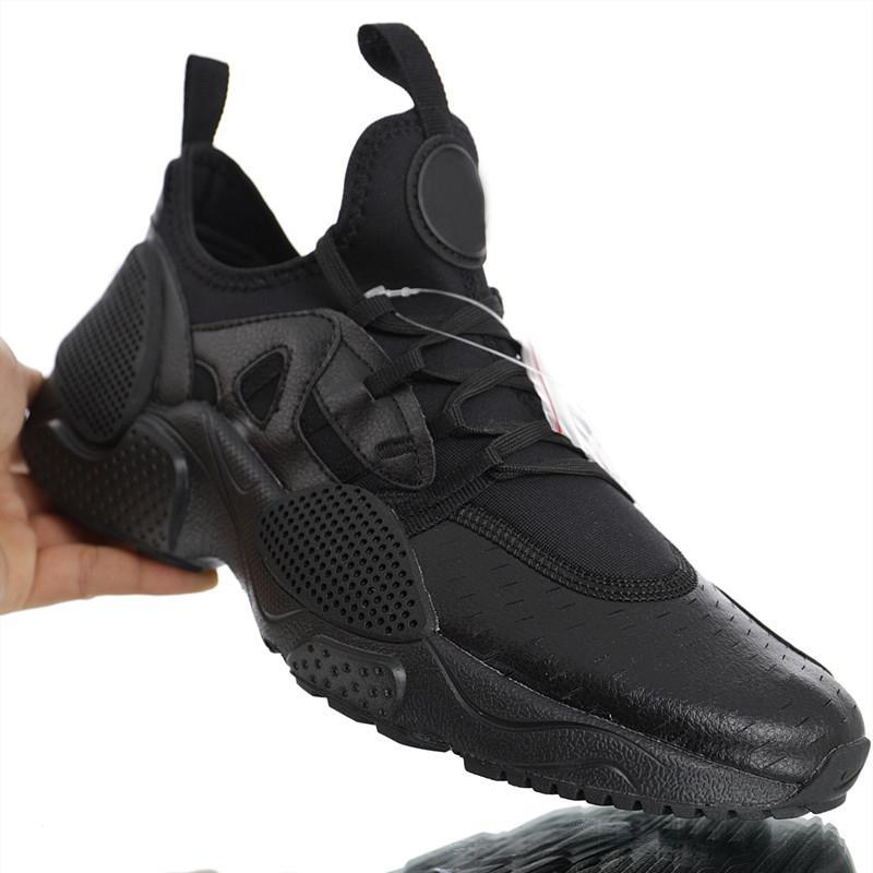 7096836f5 Compre 2019 Nuevos Zapatos Huarache Edge TXT QS De Alta Calidad Hombres  Mujeres Huaraches 7 EDGE Negro Cuero Blanco Zapatos Atléticos Listos Para  El ...