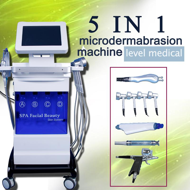 Multi-functional Beauty Equipment Manufacturer/skin Care Hydra Hydrodermabrasion Facial Skin Whitening Bio Lifting Pdt Machine