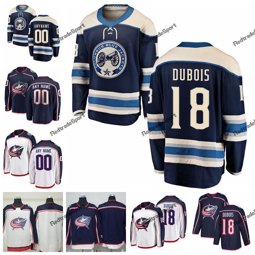 9ed1357e6 2019 2019 Alternate Pierre Luc Dubois Columbus Blue Jackets Hockey Jerseys  Mens Custom Name Home  18 Pierre Luc Dubois Stitched Hockey Shirts From ...