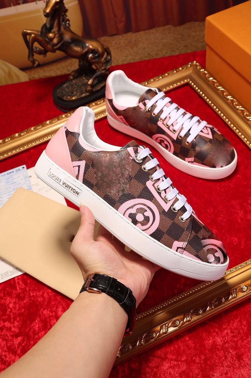 308dd114ac2 Compre Louis Vuitton Men Lv Chaussures Hommes Shoes Women Sneakers Tamaño:  35 46 Moda De Lujo Scarpe Diseñador Para Hombre Mujer Sandalias Zapatos ...