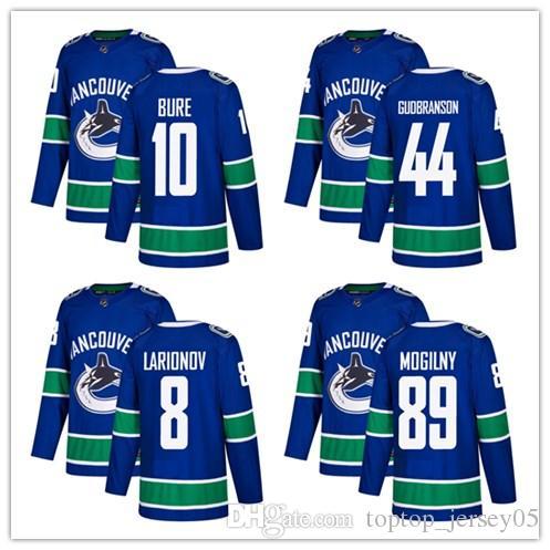 2019 2018 Vancouver Canucks Jerseys  10 Pavel Bure 44 Erik Gudbranson 8  Christopher Tanev Jersey Men WOMEN YOUTH Men S Baseball Jersey From  Toptop jersey05 69c0e81d6