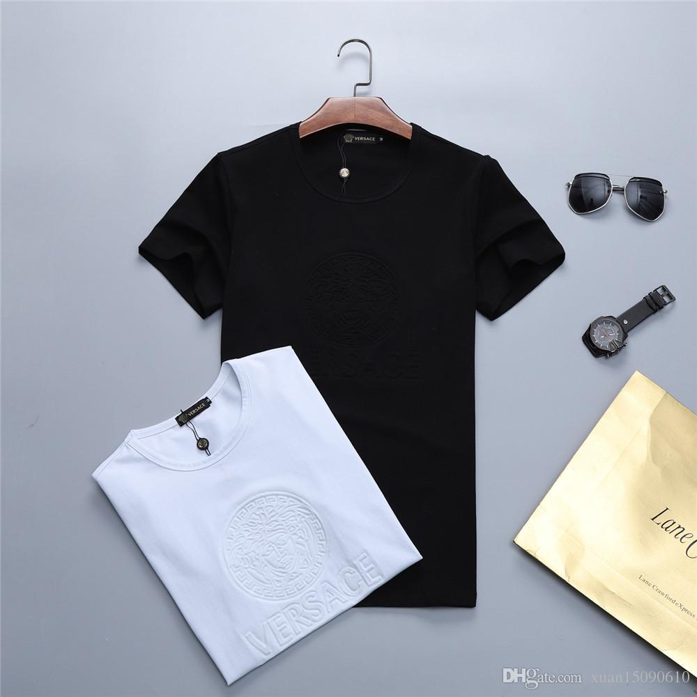 36d0fc8620 Men'S Short Sleeved T Shirt New Summer Style Round Neck Bottom Shirt Half  Sleeved Clothes Trend T Shirt Top Men'S Wear Funny T Shirts Mens Shirts  From ...