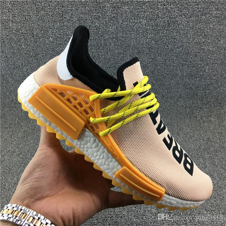 fac08ec6b868d Human RACE HU Nmd Pharrell Williams Trail Mens Designer Sports Neutral  Spikes Running Shoes For Men Sneakers Women Casual Trainers Shoe Kids  Stability Shoes ...