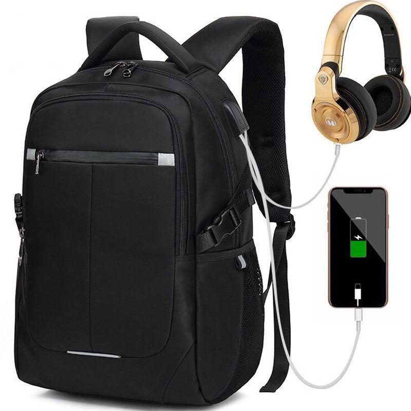 fa7505618493 Good Quality Waterproof Usb Charging Men Large Laptop Backpacks Teenager  Fashion School Bag Business Mochila Leisure Travel Backpacks Best Backpack  Designer ...