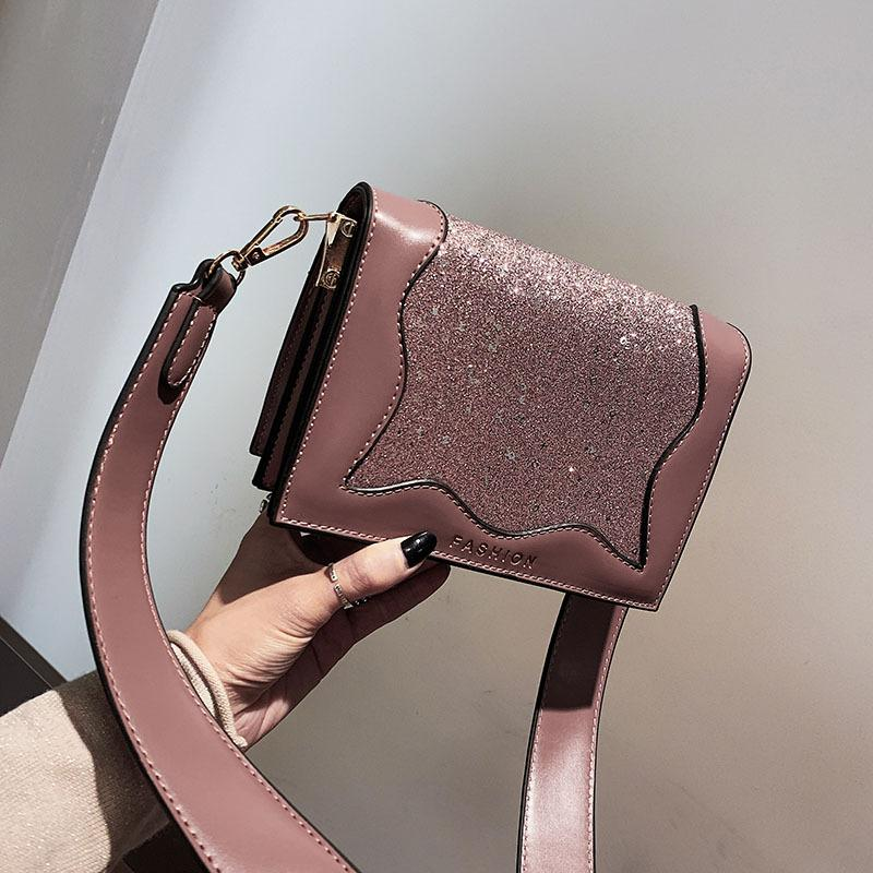 Winter New PU Shoulder Bags Wave Style Exquisite Crossbody Bag ... e66453db5c09e
