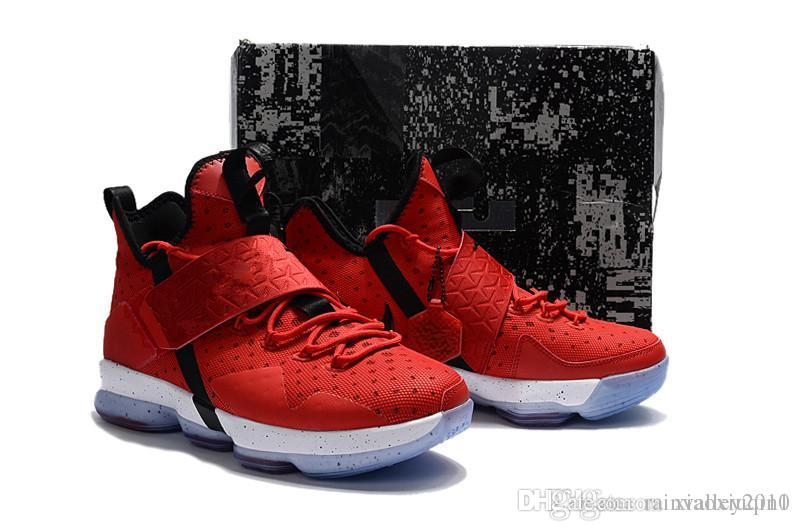 new styles e0d53 a7e18 what the lebron 14 Xiiii mens basketball shoes for sale MVP Christmas BHM  Oreo youth kids Generation sneakers boots with Size 7 12