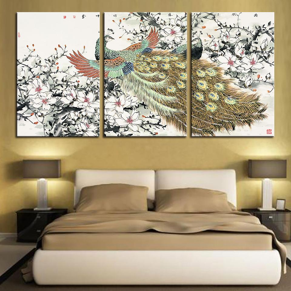 2019 hd wall art prints pictures classic animal peacock canvas rh dhgate com