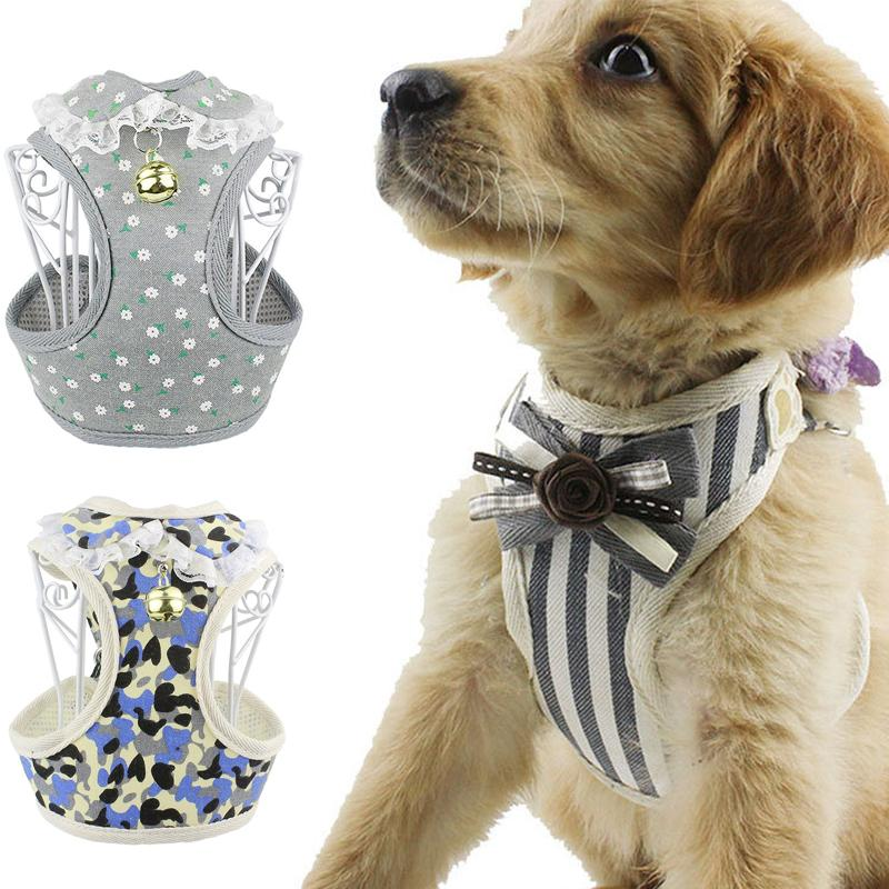 Dog Puppy Bowknot Leather Studded Set Collar /& Lead Small Medium Size Pet Cat