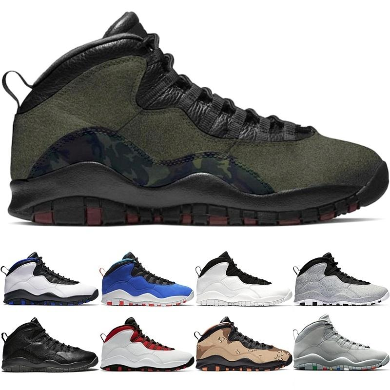 10 Men Basketball Shoes 10s Desert Camo Cement Woodland Camo Orlando Tinker Mens Trainer Athletic Sports Sneakers Size 41-47