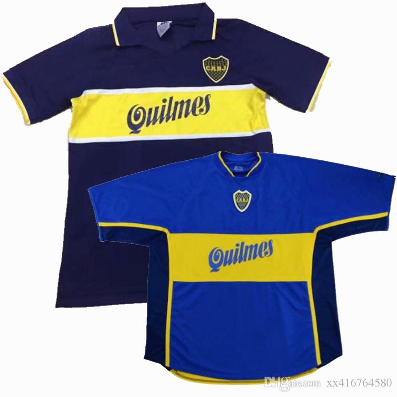 0b109e12d41 2019 1995 1996 1997 1998 200 2001 BOCA JUNIORS RETRO 97 98 00 01 SOCCER  JERSEYS MARADONA 10 HOME BLUE 95 96 JERSEY FOOTBALL SHIRTS S 2XL From  Xx416764580, ...