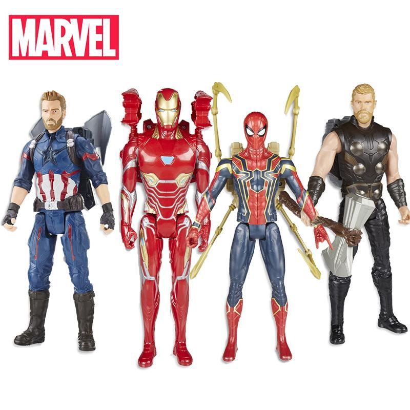 Action Q190522 Avengers Titan Infinity America Cm Fx Araignée Figure War 30 Power Héros Man Jouets Captain Iron Électronique Thor Marvel DIYeH9WE2