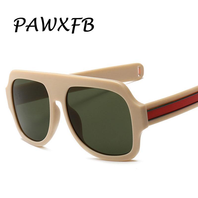5bf79132615 Wholesale PAWXFB 2019 New Oversize Square Sunglasses Women Sun Glasses  Fashion Men Driving Eyewear Shades A Sunglasses For Men Prescription  Glasses From ...