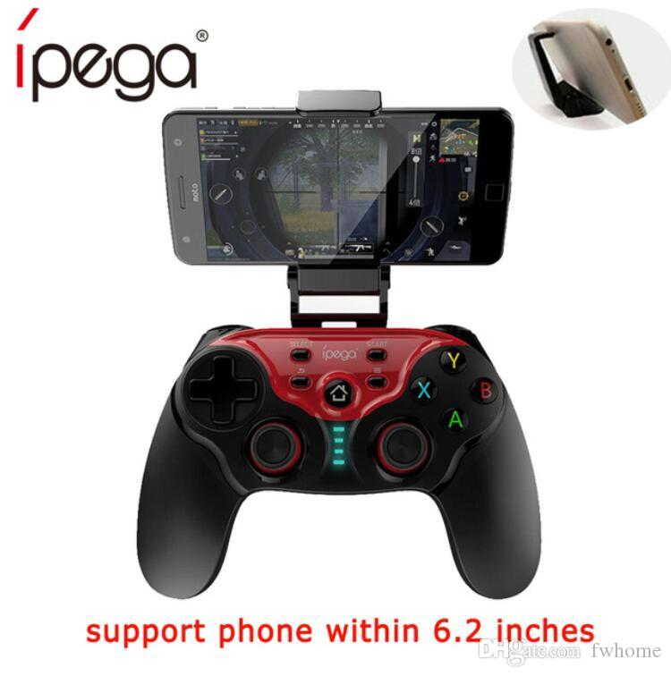 iPEGA PG-9088 Smart Wireless Bluetooth Gamepad Joystick With Mobile Phone Clip For Android Smartphone TV Box Wireless Game Controller