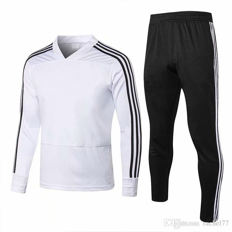 638be6ee425a3 Compre 18 19 Real Madrid Chándal De Manga Larga Para Hombre Entrenamiento  De Fútbol DYBALA Chándal