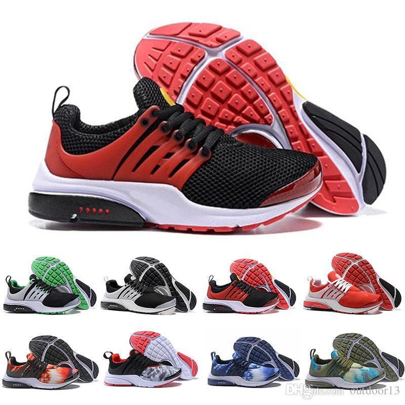 2019 Presto Brutal Honey Black Red Running Shoes Mujer Hombre Zapatillas Esenciales QS Safari Pack GPX Calzado Diseñador olímpico deportivo Zapatillas