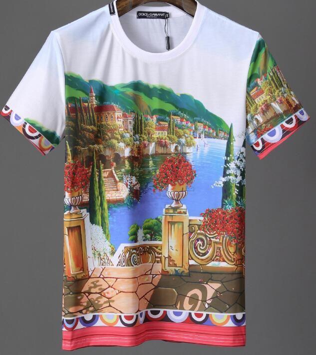 020253328818 2019 DG New Summer Champion BrandS Men S T Shirts Cotton Short Sleeves T  Shirt Men Fashion Print T Shirt Men Tops Tees Casual POLO Tshirt 22 Humor T  Shirts ...