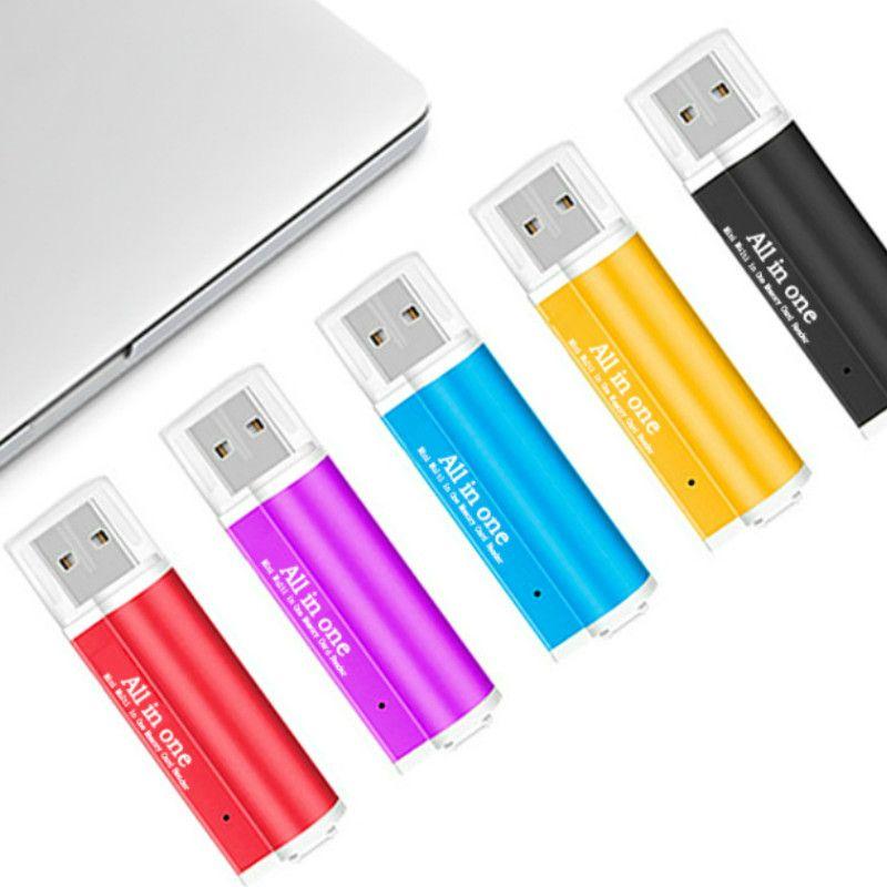 Universal All-in-One-Mini-Multi-in-One-Speicherkartenleser Mini-Telefon-Erweiterungs-Header Micro-USB-OTG-Adapter Hohe Qualit/ät