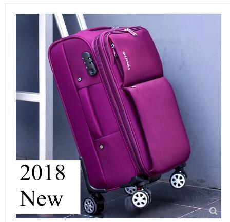 KAWEIDA Oxford Spinner suitcases Travel Luggage Suitcase Men Travel Rolling luggage bags On Wheels Suitcase trolley bags