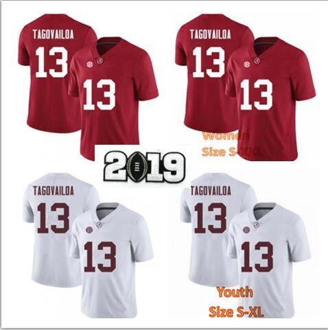 c34a9e67a 2019 NCAA College Jersey Tua Tagovailoa Jersey Men Women Youth Kid S Alabama  Crimson Tide Football Jerseys Red White From Goodjersey02