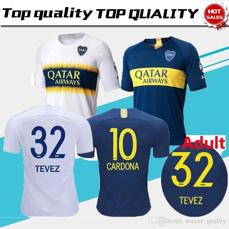 2018 BOCA JUNIORS Camisetas De Fútbol 6 CONMEBOL GOLD CUP TEVEZ Jersey Azul  Blanco MARADONA GAGO CARDONA CAMISA CAMISA Camisetas De Fútbol De Camisas  Por ... f1c6edd799eec
