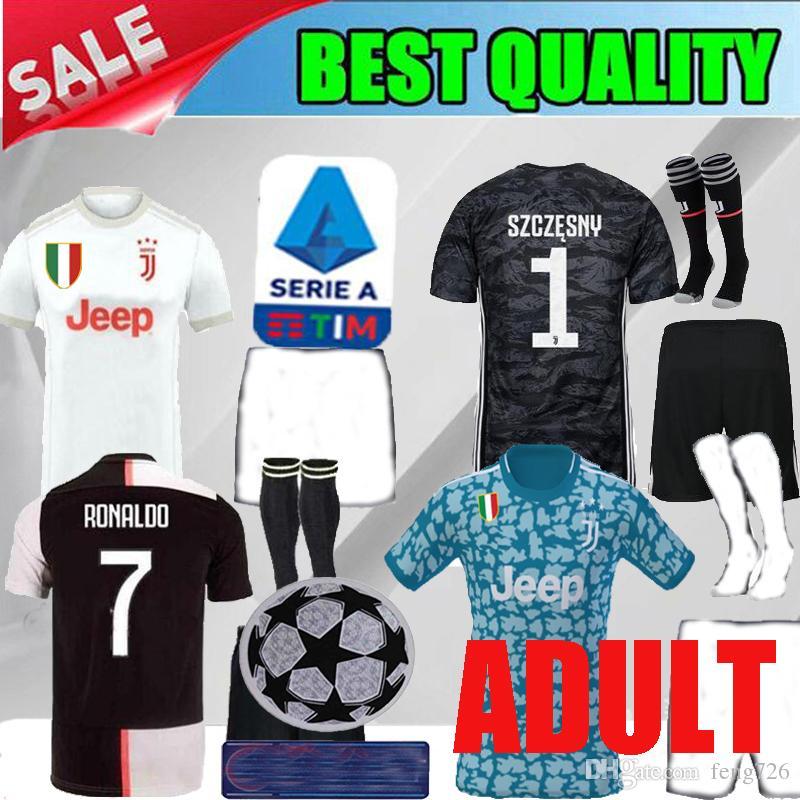 00081484 2019 2019 Juventus Home RONALDO Adult Soccer Jersey 19 20 Juventus ...