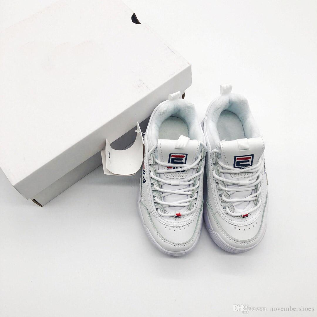35c7c731 Compre Bebé Niños Zapatos Casuales Originales Blanco Rosa Niños Niñas II 2  Niños ARCHIVO Sección Especial Zapatillas Deportivas Aumento Zapatillas  Tamaño 28 ...