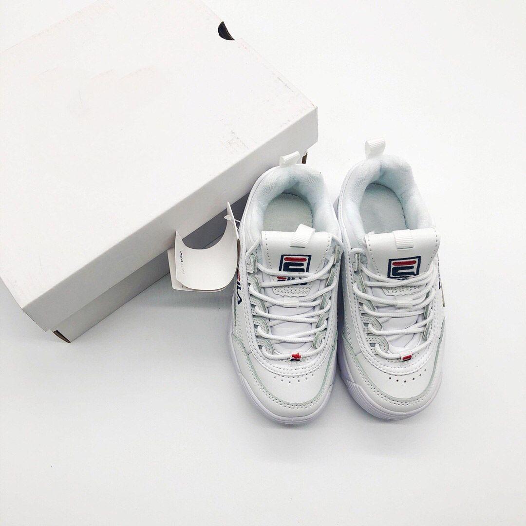 new product 59d81 96218 Großhandel Original FILA Disruptors II 2 Baby Kids Original Casual Schuhe  Weiß Rosa Jungen Mädchen II 2 Kinder FILE Sport Sneaker Für Spezielle  Sportschuhe ...