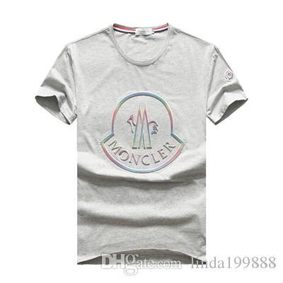 6b90c603c379a Acheter 2019 Marque Internationale M Design T Shirt À Manches Courtes Pour  Hommes M8003 Mode Française Style Décontracté Été Coton Polo Shirt Col Rond  De ...