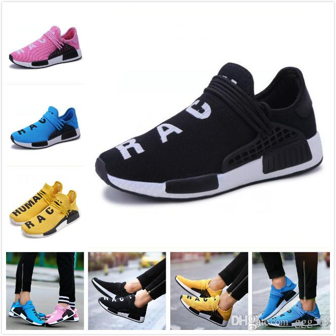 b7b0313356d29b 3Cheap Sale NMD Human Race NERD Homecoming Afro Hu Solar Pack Men Running  Shoes Pharrell Williams HU Trainers Men Sports Sneaker Zapatos Sho UK 2019  From ...