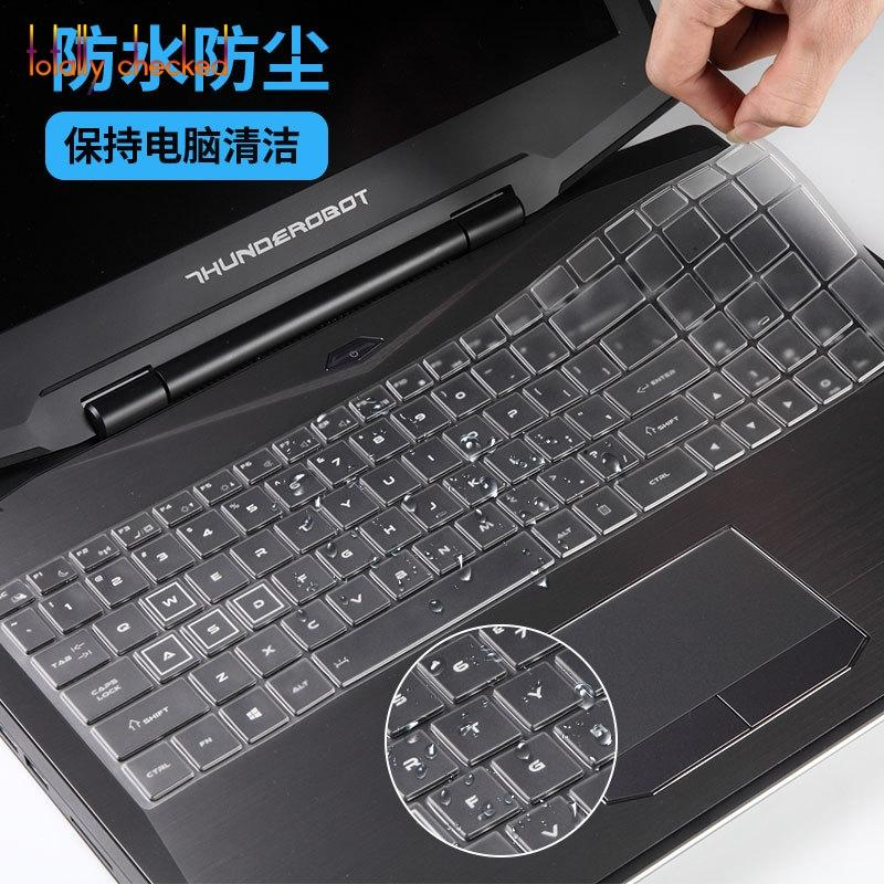 Ultra thin TPU laptop Keyboard Cover Skin Protector For THUNDEROBOT 911GT 911SE THUNDEROBOT ST Plus ST-Pro / DINO