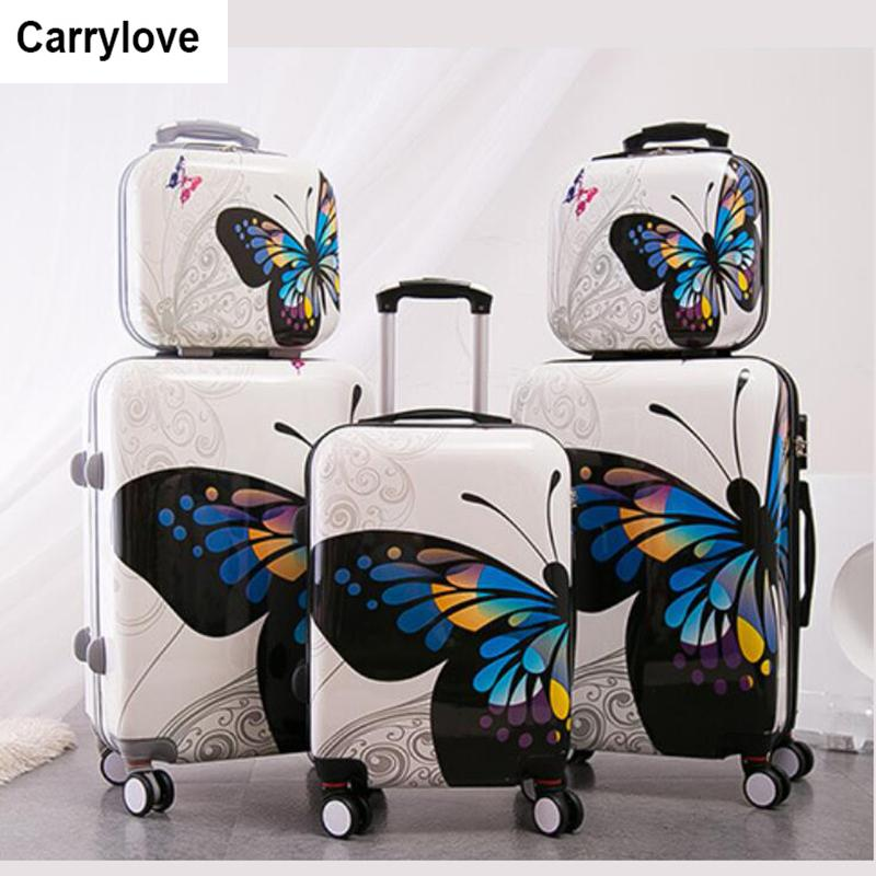 1d3f8431b Carrylove women rolling luggage sets 20