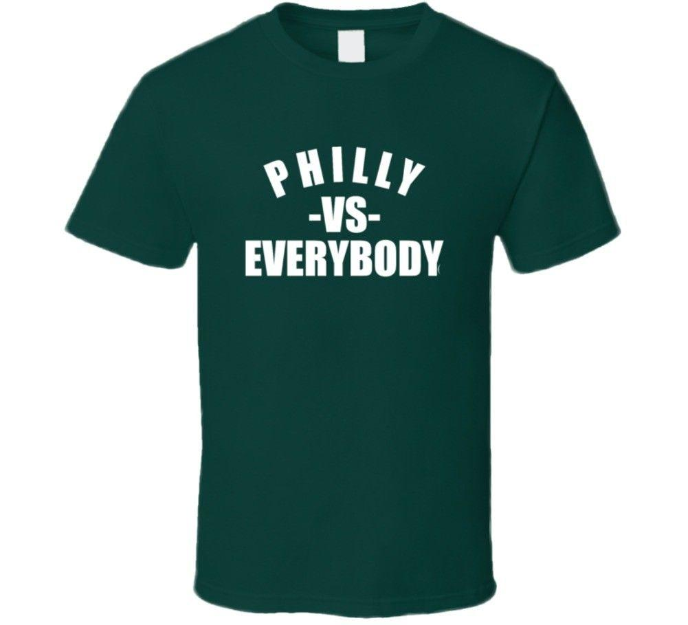 387cc191a9e Philadelphia Philly Vs Everybody Sports Football Fan T Shirt Funny Unisex  Tshirt Top T Shirts Shopping Really Funny T Shirts From Cheapasstees