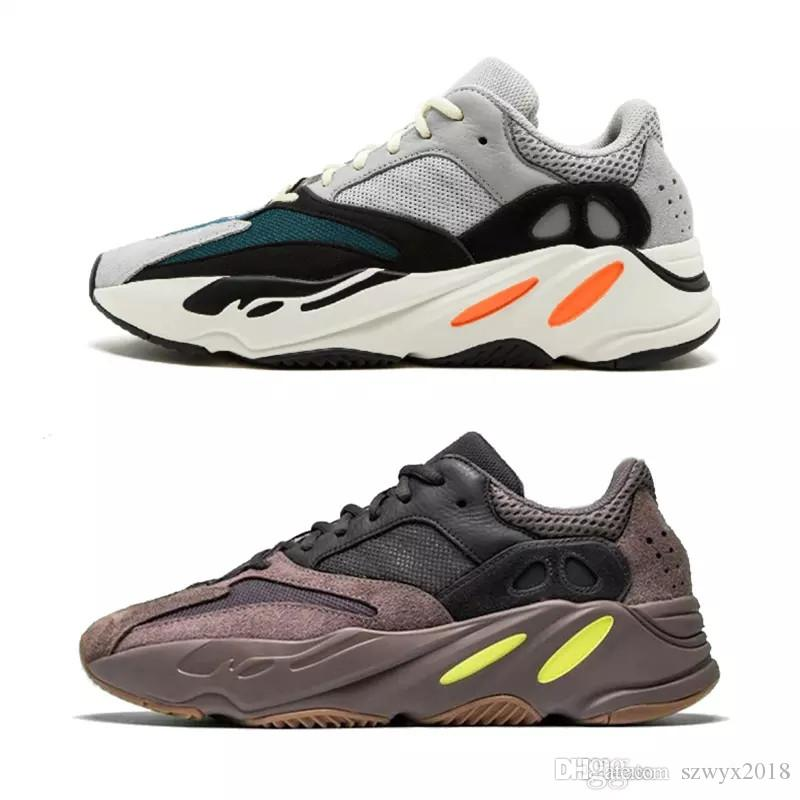 a8e5c0d555d 2019 With Box 700 Wave Runner Mauve EE9614 B75571 Running Shoes Men ...