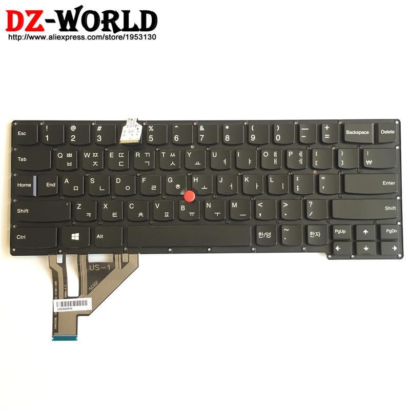 New/Orig KR Korean Backlit Keyboard for Thinkpad X1 Carbon 2nd Gen 20A7  20A8 Backlight Teclado 04X6557 04X6520 00HM032 04X6594