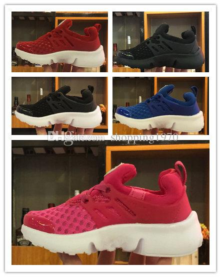 reputable site 4d7dd 1face Box2019 Kids Presto White Chaussures Pour Enfants Baby Girl Boys Sport Shoes  Presto Sneakers Kids Children Walker Shoes EUR 24 35 Waterproof Running  Shoes ...