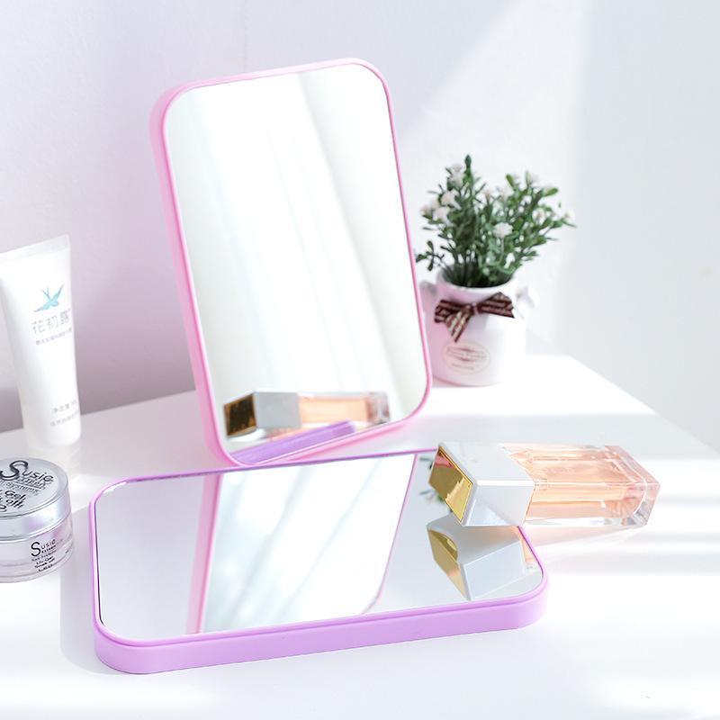 21e2248c8c Compre 1147 Hd Solo Fideos Maquillaje Espejo De Sobremesa Vestidor Colorido  Espejo Plegado Cuadrado De Tuba Portátil Espejo De La Princesa A $6.46 Del  ...