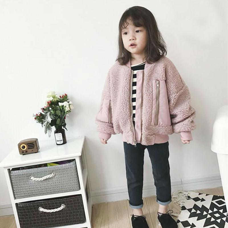 Mihkalev Baby Girl Coats And Jackets 2018 Autumn Winter Children