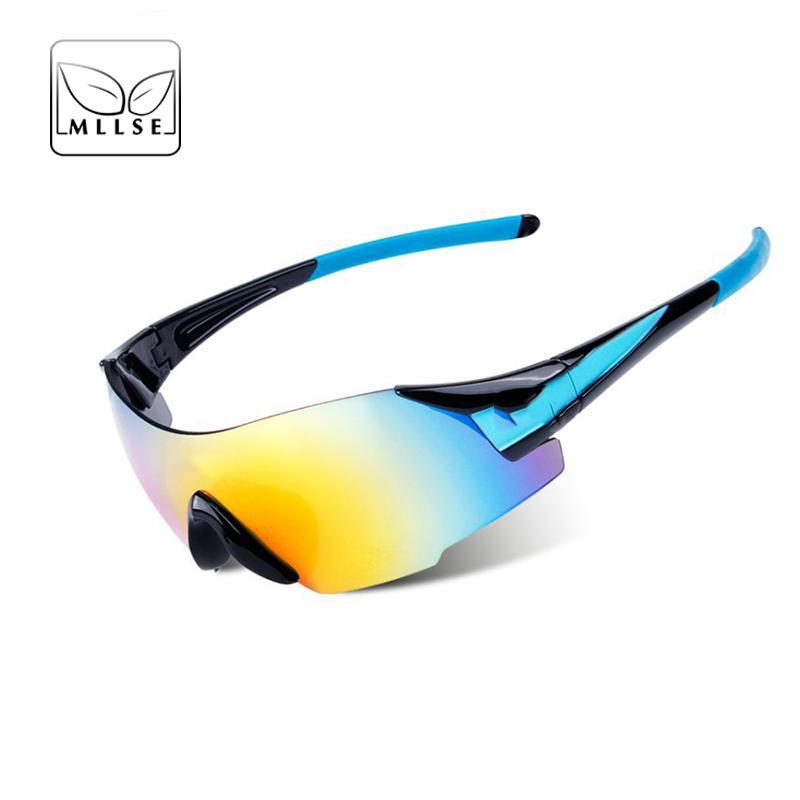 Compre MLLSE Nueva Marca Gafas Deportivas Gafas De Sol Hombres Mujeres Pesca  PC Lente Moda De Alta Calidad De Conducción UV400 Unisex Eyewear A  41.53  Del ... e4f88e54c471