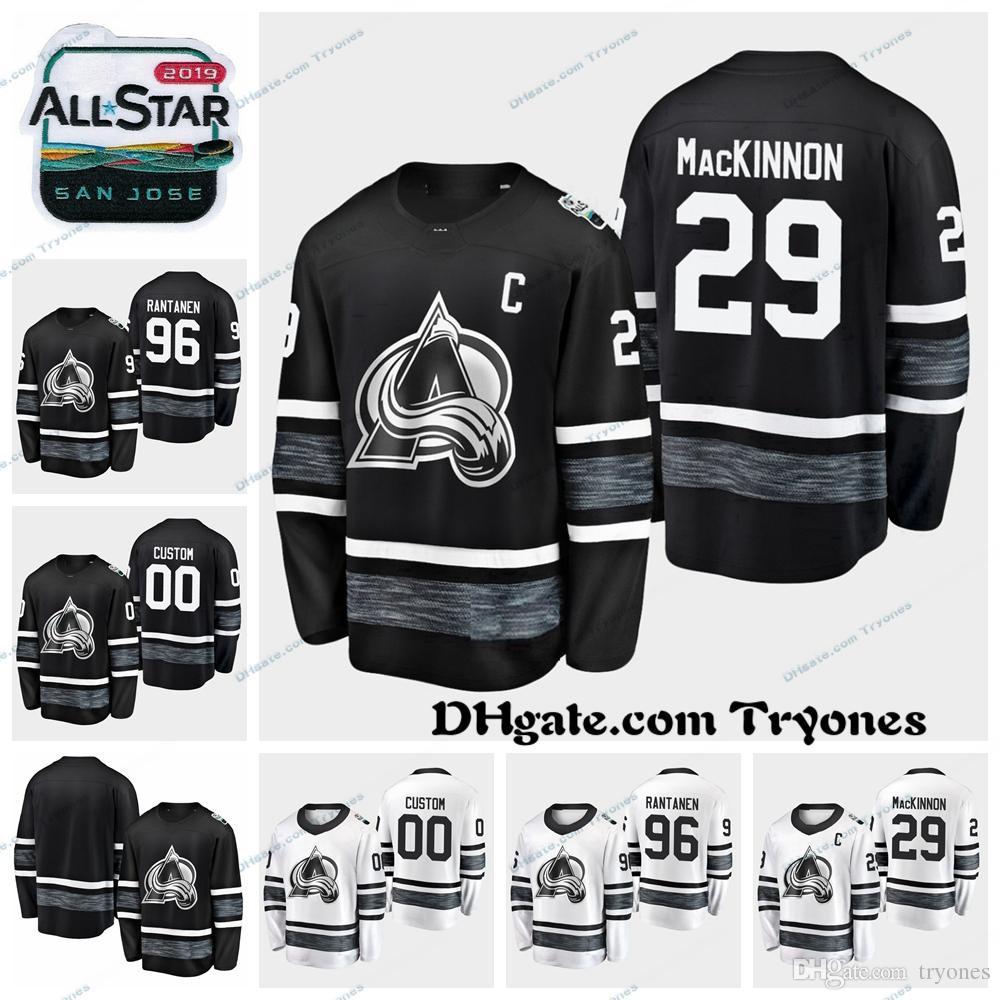 2019 2019 All Star Game 29 Nathan MacKinnon Colorado Avalanche Stitched  Jerseys Cheap Black White Customize 96 Mikko Rantanen Hockey Jerseys From  Tryones 3da4721fc