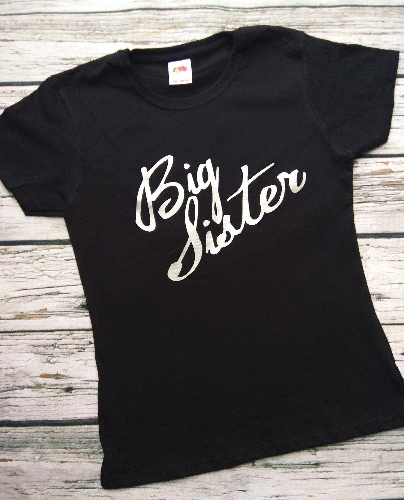 e9da65cd Girls Big Sister T-Shirt going to be I'm the New Baby Shower Gift 0-15  yearsFunny free shipping Unisex Casual Tshirt