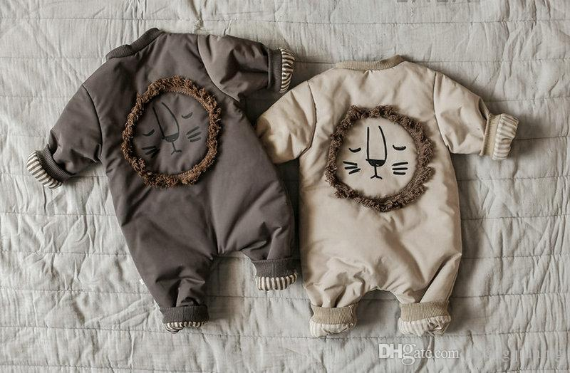 a57eb6ba6 2019 30 Degrees New Born Baby Wear Winter 2018 Jumpsuit Snowsuit Boy Cotton  Warm Romper Down Girl Clothes Infant Overcoat Kids Clothing From  Huangqiuning
