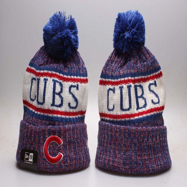 Achat/Vente de gros divers styles NOUVEAU Baseball Cubs Hiver Chapeaux Bonnets pour Hommes Femmes Chicago  Sports Bonnets Marque Tricoté Chapeau expédition de baisse