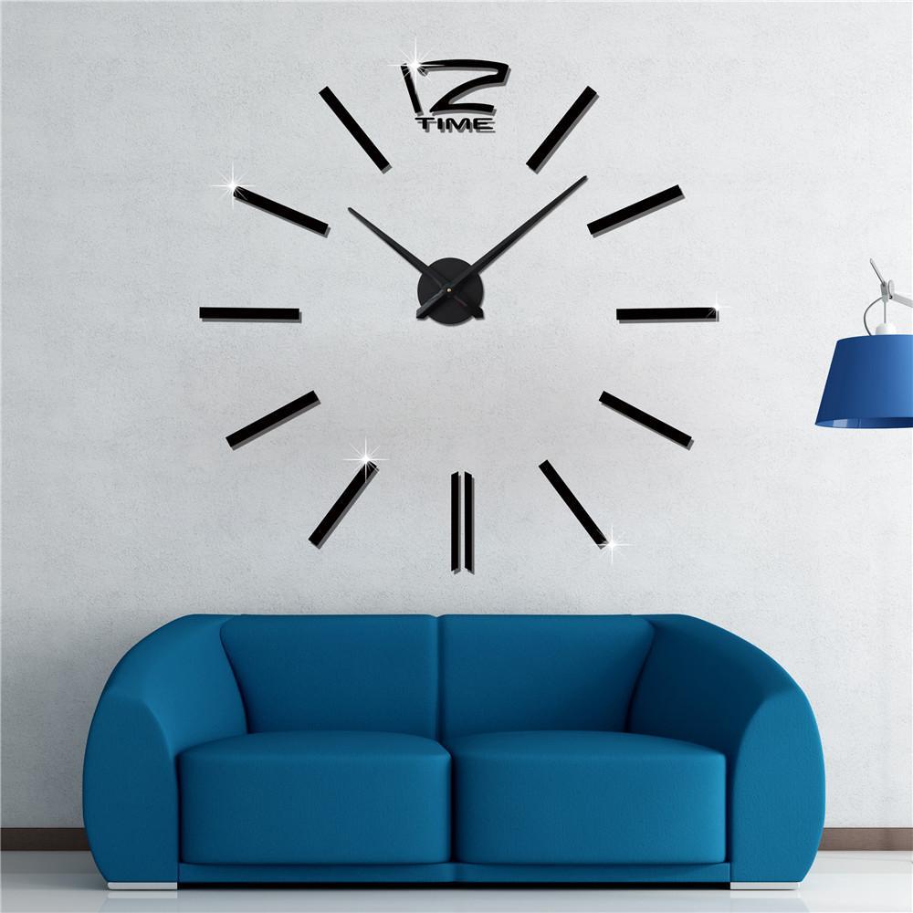 Großhandel Reloj Pared Heißer Verkauf 3D Wandaufkleber Kreative ...