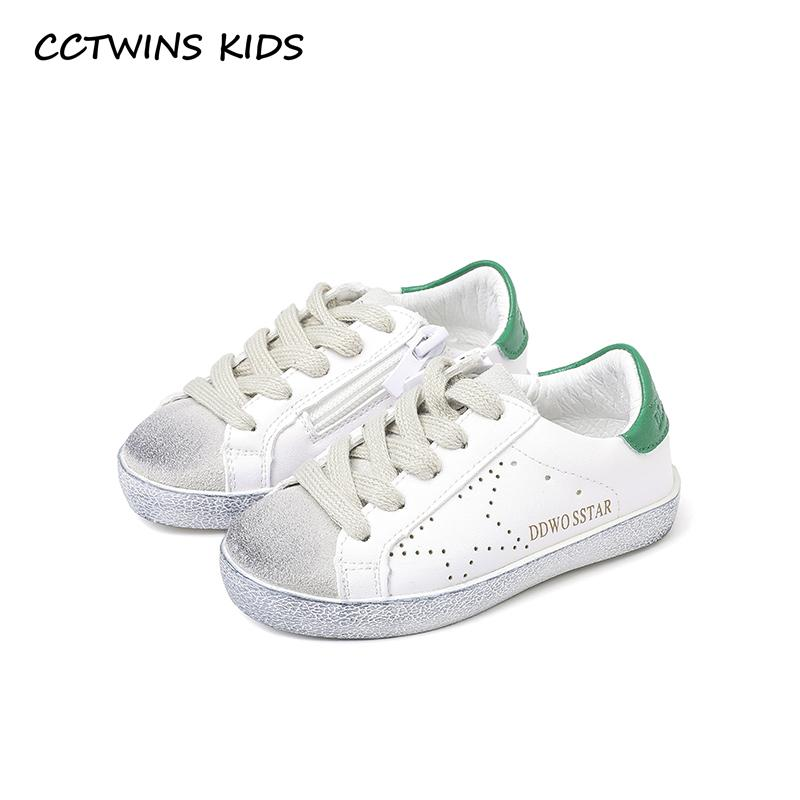 Cctwins Kids 2018 Spring Toddler Boy Star Lace Up Fashion Sneaker