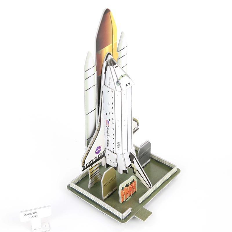 shuttle giocattolo  Acquista DIY Puzzle Space Shuttle Rocket 3D Stereo Jigsaw Puzzle Toy ...