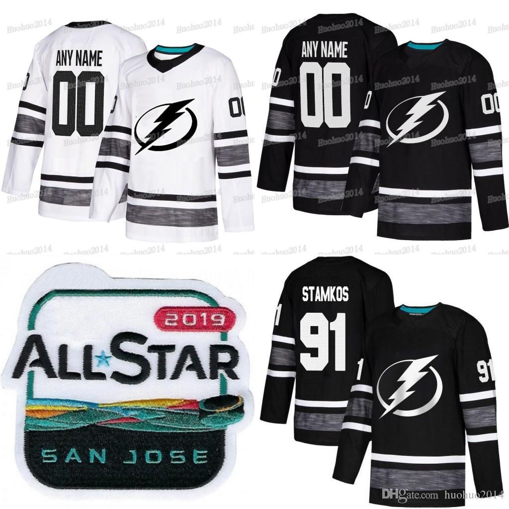 2019 2019 All Star Custom Tampa Bay Lightning Ryan McDonagh Andrei  Vasilevskiy Steven Stamkos Nikita Kucherov Victor Hedman Hockey Jerseys From  Huohuo2014 093505232