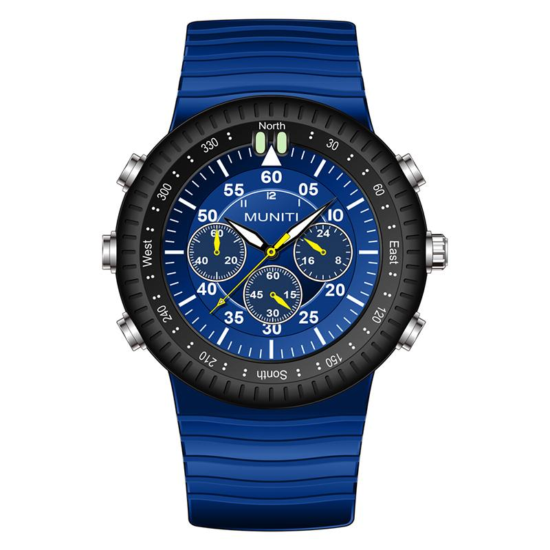 0b8b4946f2a Relogio Masculino Men s Sports Watch Casual Silicone With Luminous ...