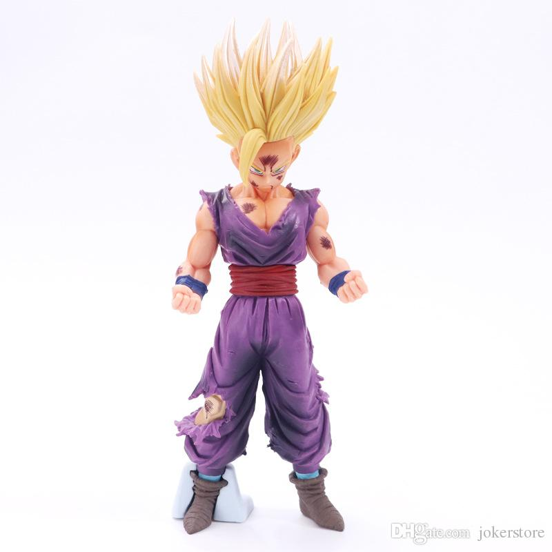 2019 Dragon Ball Z Super Saiyan Son Gohan Anime Figures Action Figure Christmas Gifts Toys Birthdays Doll New Arrvial Hot Sale PVC From Jokerstore